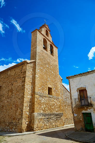 Church in Talayuelas Cuenca at Castilla la Mancha of spain photo