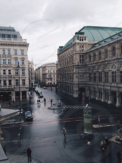 Rainy Vienna photo