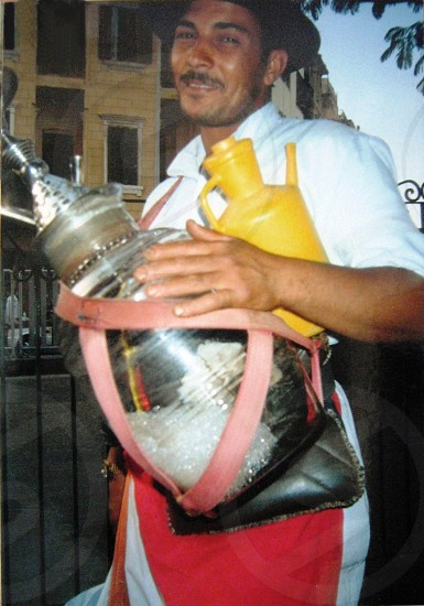 Cairo - Itinerant Milk Seller photo