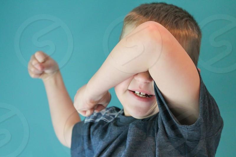 Tantrum boy kid ADHD anger frustration family photo