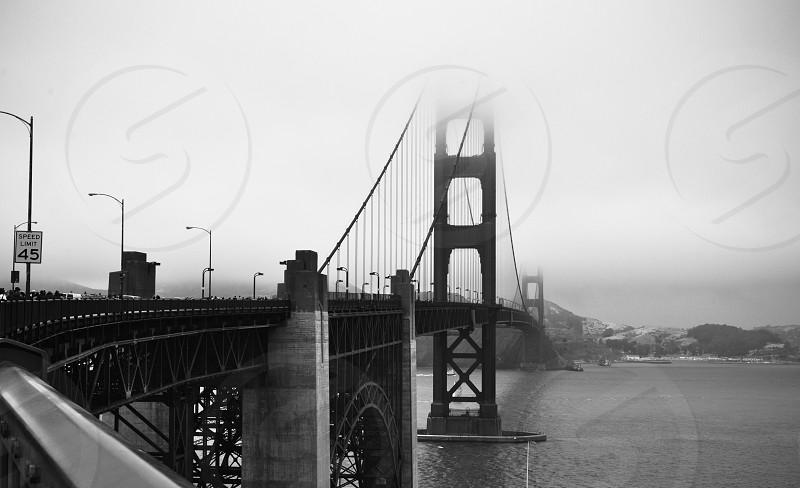 Walking the Golden Gate Bridge photo