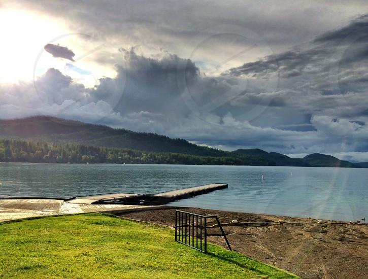 Whitefish Lake.  Montana  photo
