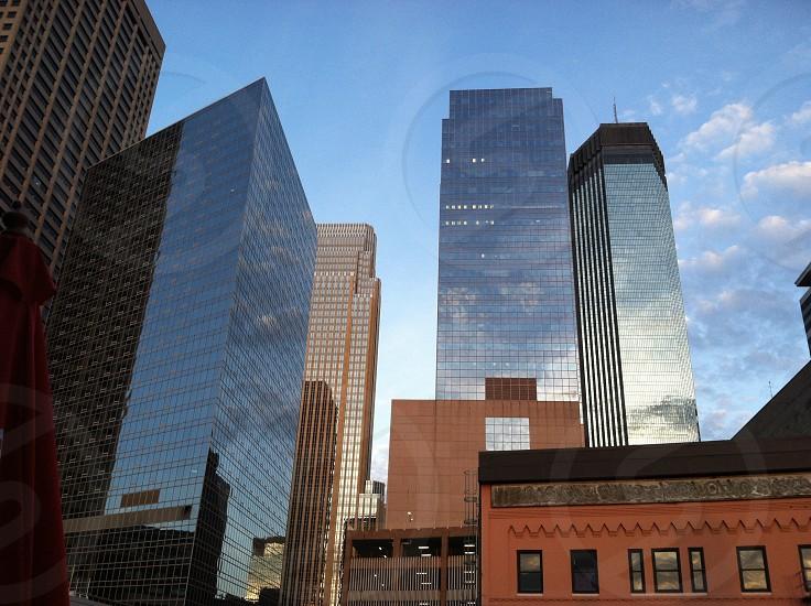 Minneapolis city building architecture skyline  photo