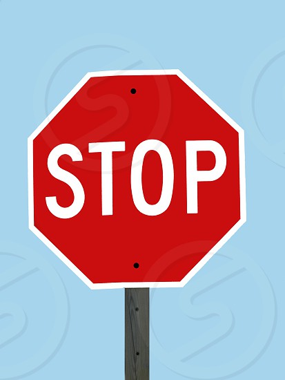 Stop sign road sign traffic sign  octagon signage photo