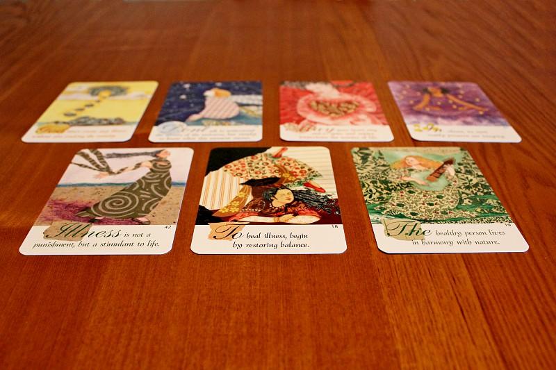Tarot cards photo