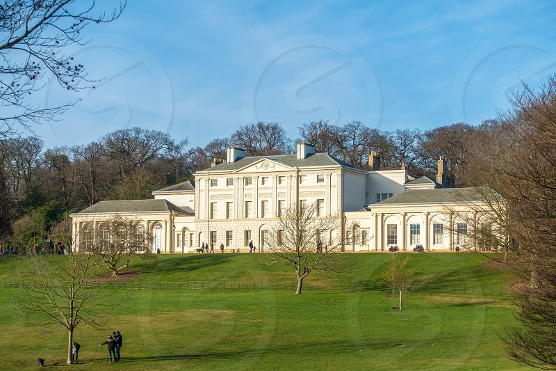 View of Kenwood House at  Hampstead Heath photo