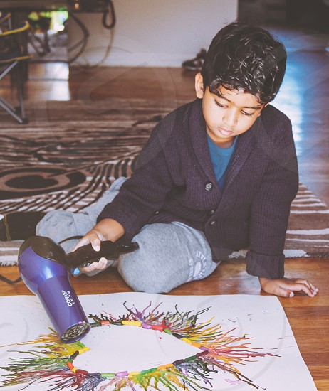 Creative kids  photo