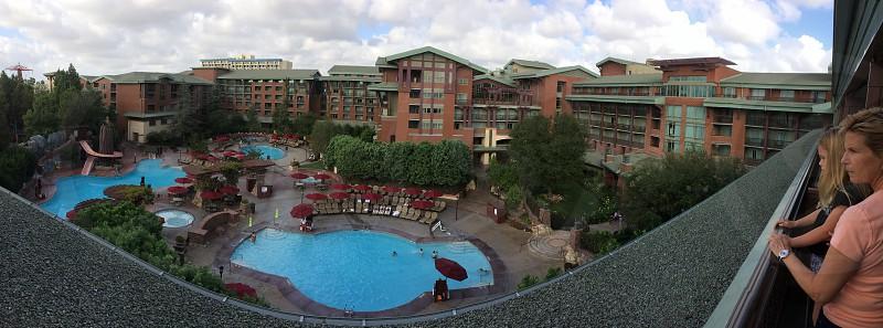 Disney's Grand California hotel. Anaheim photo