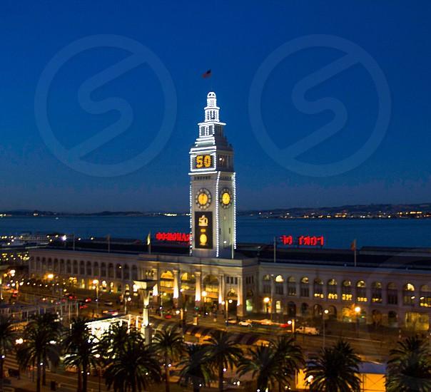 San Francisco; ferry; building; embarcadero; California photo
