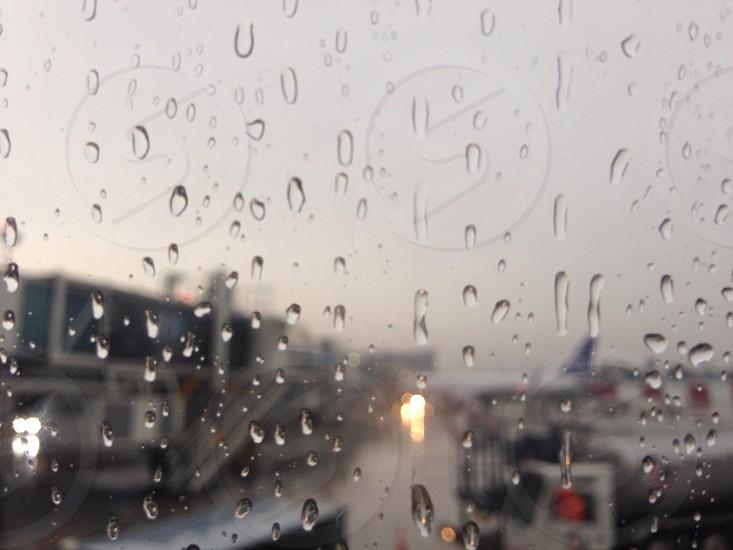 Leaving. Rainy Morning. Panama photo