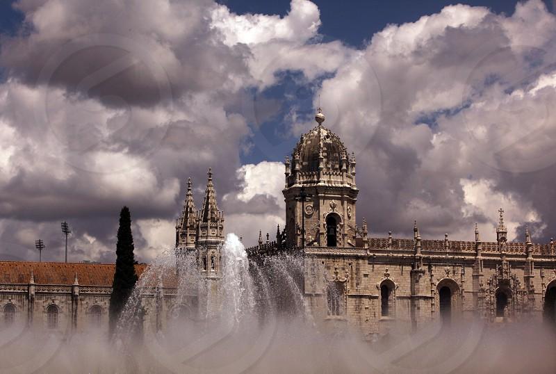 Das Kloster Jeronimus im Stadtteil Belem der Hauptstadt Lissabon in Portugal.    photo