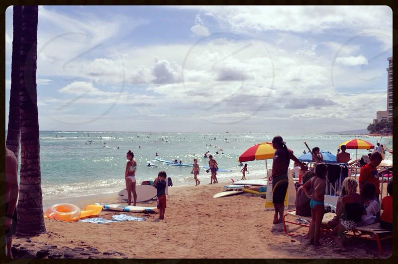 Beach tones photo