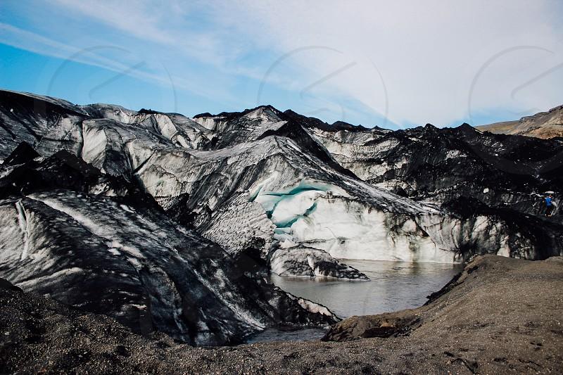 glacierIcelandicecoldsnownature photo