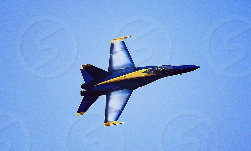 Blue Angel Navy United States Freedom Jet Fighter Pilot Litely photo