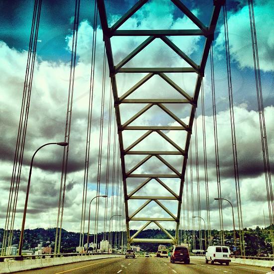 Fremont Bridge - Portland OR photo