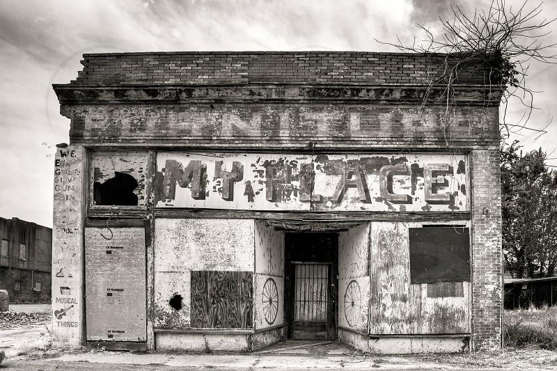 Ruin of an Old Speakeasy in Helena Arkansas photo