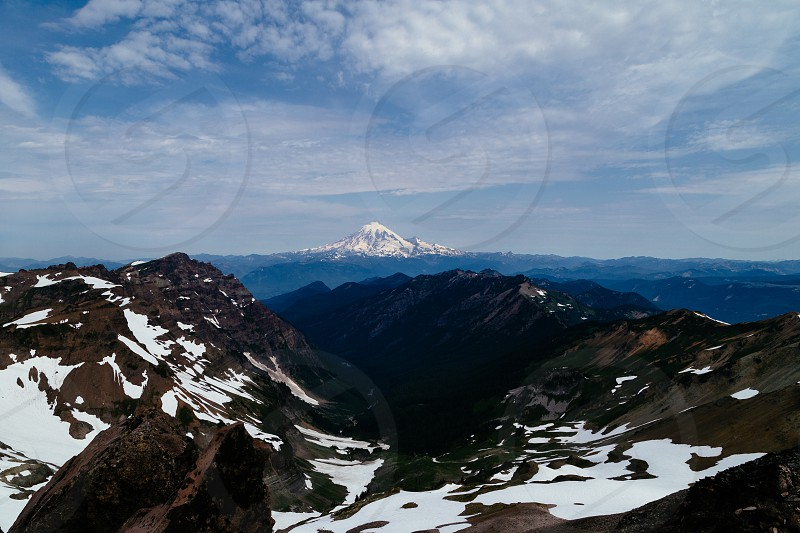 mountain volcano picture photo