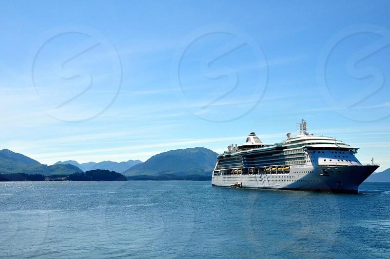 Cruise ship in Alaska  photo