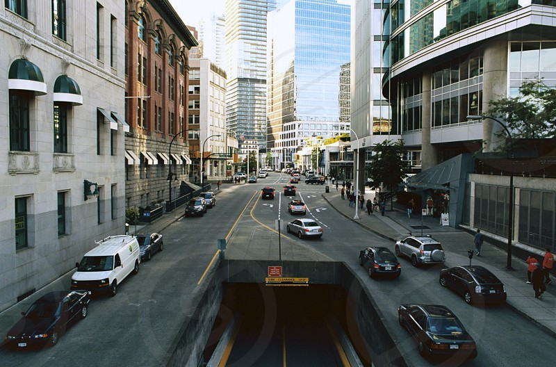 downtown tunnel road photo