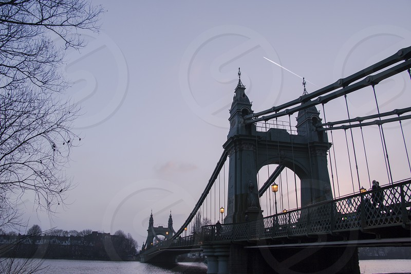 Hammersmith Bridge London (United Kingdom) photo