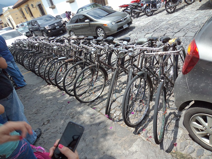 Classic Vintage Bicycles of Antigua Guatemala photo