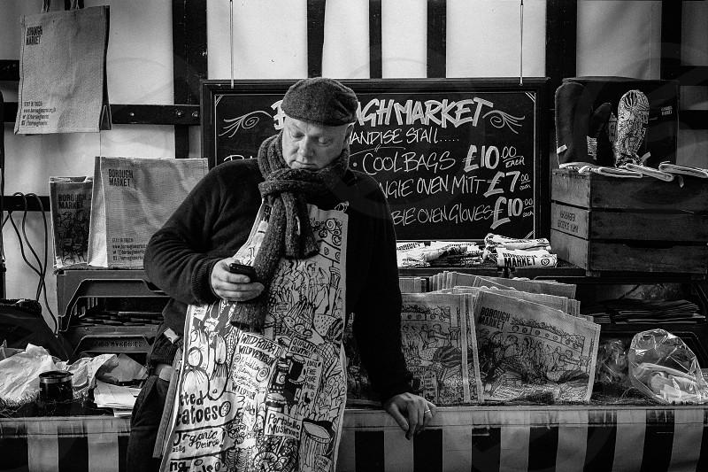 Borough Market London photo