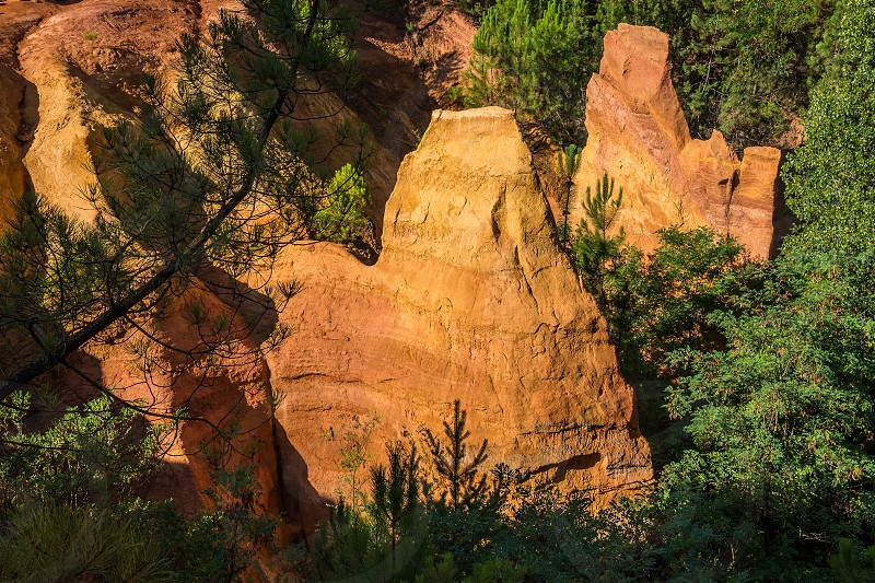 Roussillon Vaucluse France photo