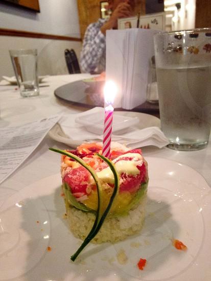 Sushi birthday  photo