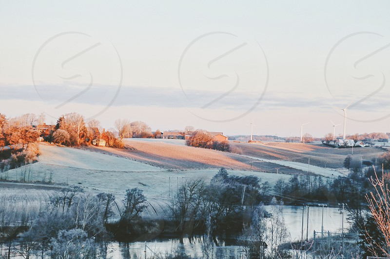 Photo By Susanne Alfredsson Fall To Winter Winter Frozen Snow Cold Fall Autumn Seasons Landscape Sky River Countryside