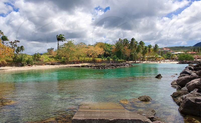 Les Trois Ilets - Martinique - arrondissement of le marin - Caribbean tropical island photo