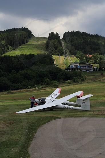 Getting ready for glider / sailplane travel photo