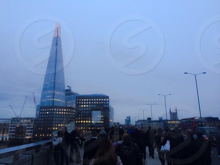 #shard #london #evening #lights photo