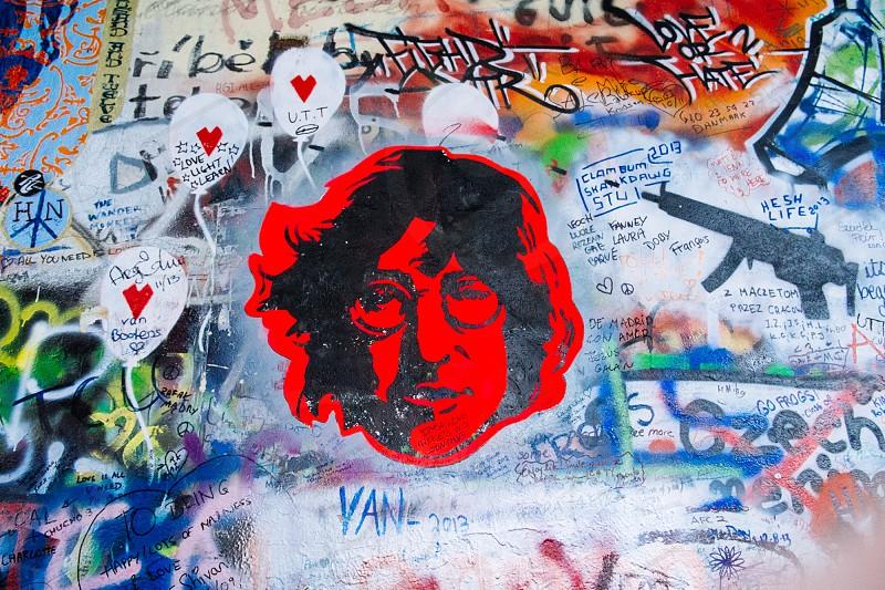 John Lennon Wall photo