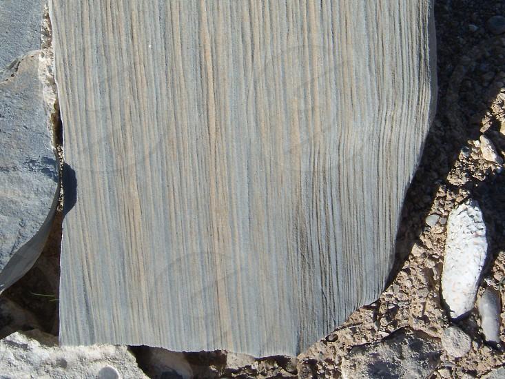 gray flat stone slab photo