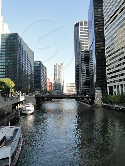 Chicago River Walk photo