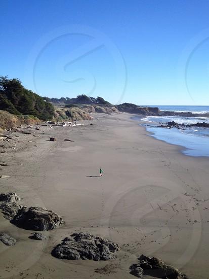Walk-On-Beach. Sonoma County CA photo