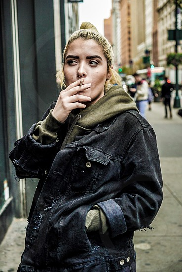 Smoker  zumiez  manhattan  34th street  New York  photo