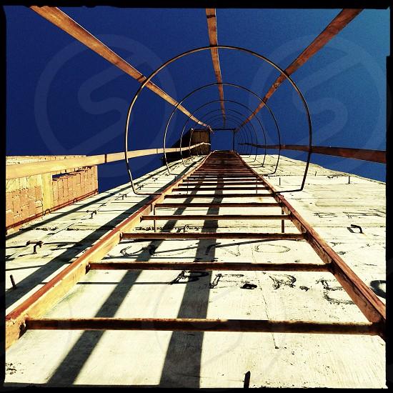 metal railway photo