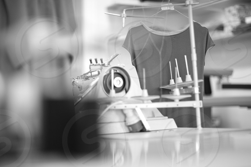 Sewing manufacture photo