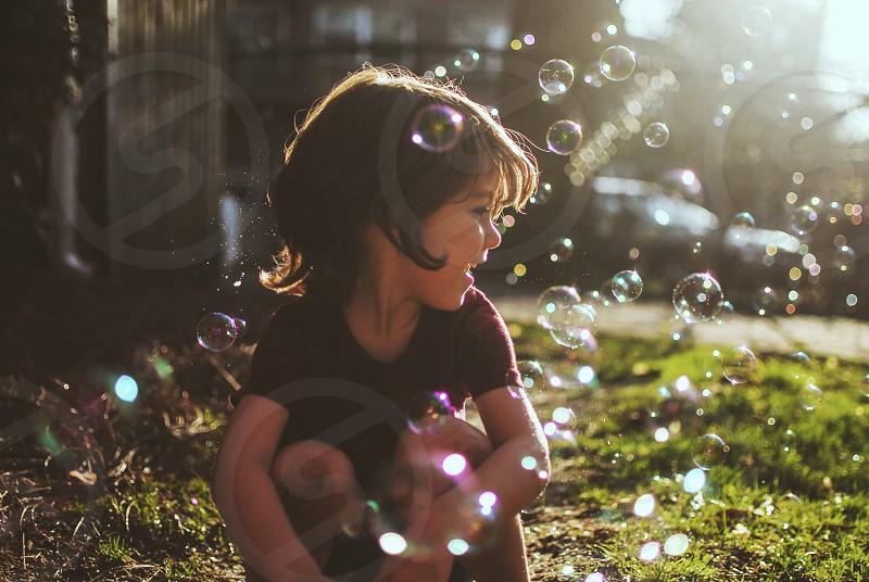 Endless bubbles - M3 filter photo