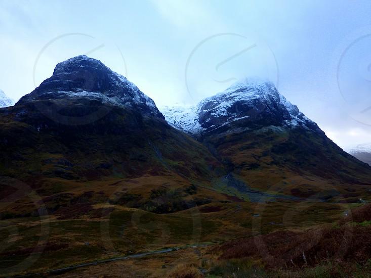 Three Sisters of Glen Coe Scottish Highlands photo