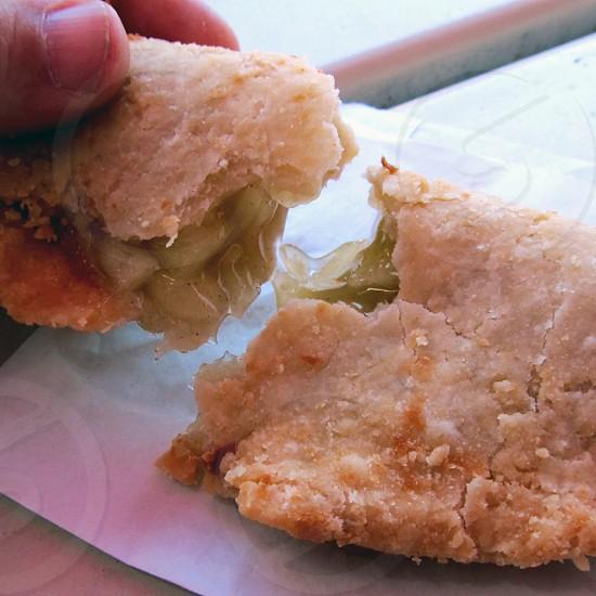 Fried apple pie photo