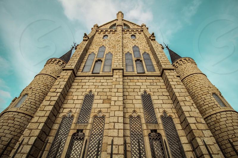 The Episcopal Palace of Astorga (León Spain). photo