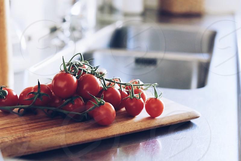 Closeup counter kitchen kitchen counters  cutting board  lifestyle  photo
