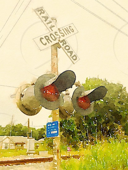 RR crossing photo