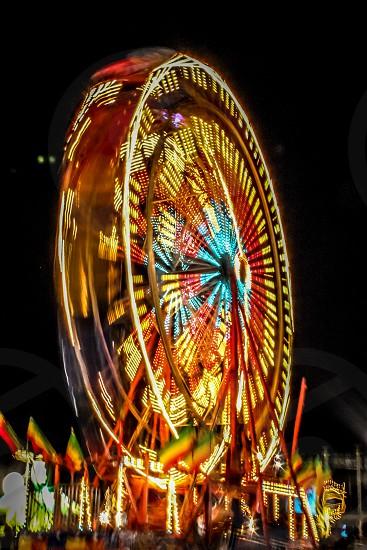 carousel ride photography photo