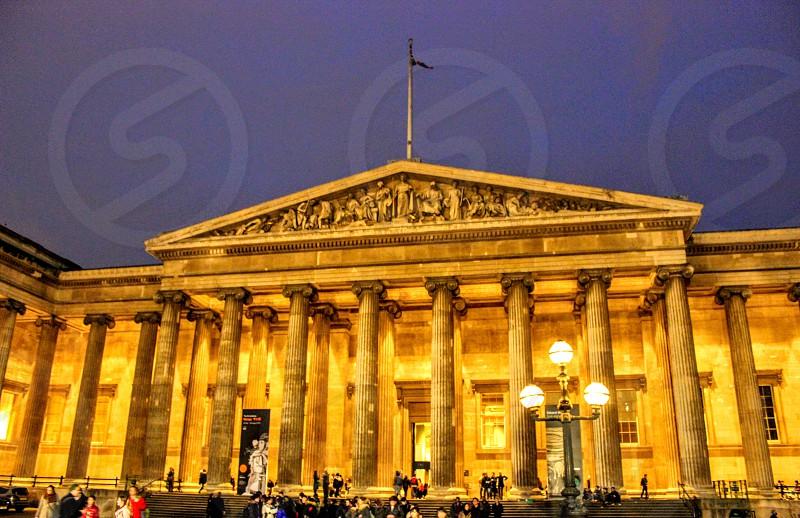 Night at The British Museum photo