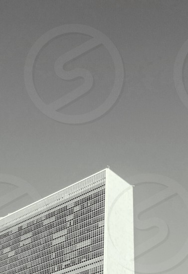 """A piece (""""peace"""") of the United Nations Building NYC photo"""