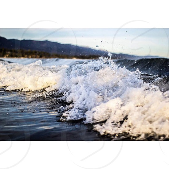 ocean waves photography photo