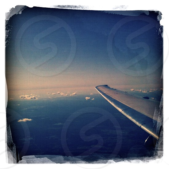 Flying - Jet Plane Wing photo